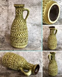 Vintage BAY KERAMIK W German Fat Lava Jug Vase Mid Century Modern Ceramic