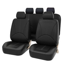 5-Seat PU Leather Car Seat Cover Protector Mat Breathable Universal SUV Cushion