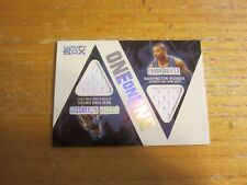 Quentin Richardson/Caron Butler 2005-06 Topps Luxury Box 1 on 1 Dual Relics #RB