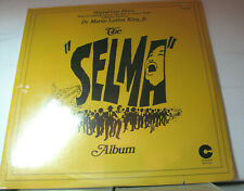 "TWO STILL-SEALED 12 Inch VINYL LP---THE ""SELMA"" ALBUM: Musical Tribute to MLK,Jr"
