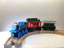 Thomas & Friends CHRISTMAS TRAIN SET Thomas, winter caboose & More