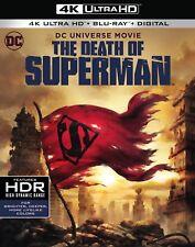 THE DEATH OF SUPERMAN (4K ULTRA HD) - Blu Ray -Region free