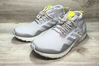 Adidas Ultra Boost Mid Running Shoes Grey White *NEW* Men's Size 8.5 [G26842]