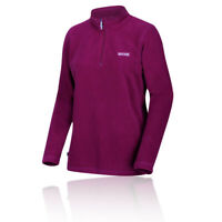Regatta Womens Sweethart Half Zip Fleece Top - Pink Sports Outdoors Breathable