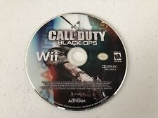 Call of Duty Black Ops - Wii - Cleaned & Tested