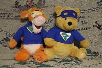 Disney Store Large My Friends Tigger And Pooh Superhero Super Sleuth Plush Toy