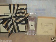 NIB JO MALONE RED ROSES BATH OIL, 1OZ/30ML + ROSE BATH SOAP +PERFUME SAMPLE VIAL