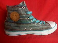 Converse Youth US 5 Denim Blue High Top Sneaker Shoe 648866F