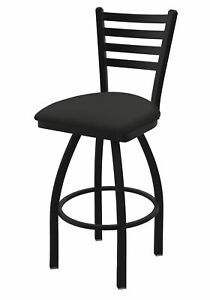 """410 Jackie 25"""" Swivel Counter Stool with Black Wrinkle Finish and Canter Eart..."""
