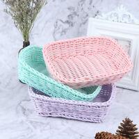 Home Storage Basket Desktop Basket Photo Props for Home Storage Decoration