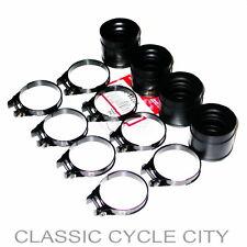 Honda CB 500 550 Four Ansaugstuten + Schellen Manifold Insulator Kit + Clamps