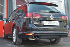 FMS Sportauspuff VW Golf VII Variant ab Bj 2013 2WD 1.6l TDI 77/81kW