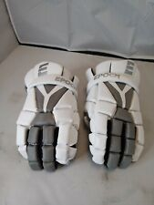 Epoch ID Lacrosse Player Gloves For Attack Middie And Defensemen White