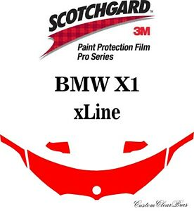3M Scotchgard Paint Protection Film Pro Series Clear 2020 2021 BMW X1 xLINE