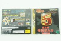 Generation 5 SS Capcom Sega Saturn From Japan