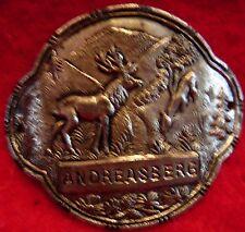 Andreasberg used badge mount stocknagel hiking medallion G5112