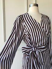 | COUNTRY ROAD | stripe drape sleeve dress chocolate | NEW | $159 | SIZE:14,16 |
