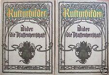 Rosenow, Emil; cultura imágenes-contra la pfaffenherrschaft, 2 volúmenes para 1910