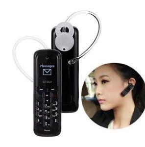 Mini Téléphone Portable oreillette Bluetooth usb GTstar BM50 voiture FRANCE