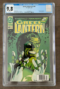 Green Lantern #v3 #49 CGC 9.8 Newstand Edition HBO Max Series Classic Cover