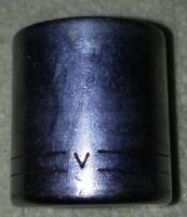 "Craftsman -V- 11/16"" 12 Point 3/8 Drive Socket  USA"