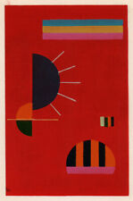 Classic KANDINSKY Pochoir, printed by Jacomet, Paris Small 1959 Modern Abstract