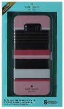 New Original KATE SPADE Berber Stripe Clear/Pink Case for Samsung Galaxy S8+Plus