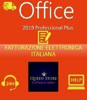Microsoft Office 2019 Professional Plus Pro Key 32/64 Bit - Licenza Esd Fattura