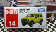 TOMICA #14 SUZUKI JIMNY 1/57 SCALE NEW IN BOX