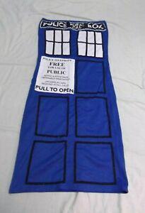 Hand Decorated TARDIS Dress Cosplay Tube Sci-Fi Geek Nerd Sexy 10th Doctor Fun