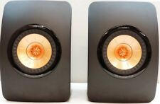 KEF LS50 50th ANNIVERSARY GLOSS BLACK MINT PRISTINE STEREOPHILE CLASS A