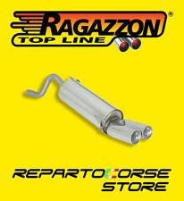 RAGAZZON TERMINALI ROTONDI 2x80mm FIAT GRANDE PUNTO 1.4 77CV 09/05->50.0128.26