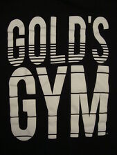 Gold's Gym bodybuilder black T Shirt L