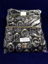 NWT Disney The Haunted Mansion Portraits Nylon Crossbody Bag By Dooney & Bourke