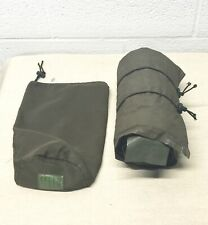 British Army-Issue Brown Thermal Inflatable Sleeping Mat & Stuff Sack.