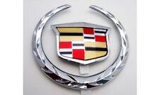 Cadillac 2004 2005 2006 2007 CTS V Grille WREATH & CREST Emblem!! OEM!!