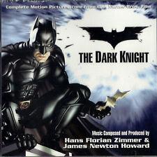 SC 2CD - The Dark Knight (Complete Score) - James Howard Newton, Hans Zimmer