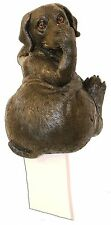 Lab Toilet Paper Holder,FUNNY,Holding Nose,Wall Mount,Wildlife Creations,4036