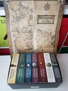 game of thrones book set. Books 1-7.