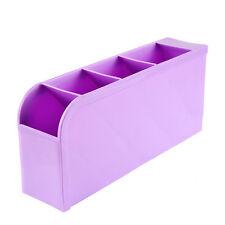 New  Plastic Organizer Storage Box for Tie Bra Socks Drawer Cosmetic Divider