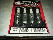 SET OF FOUR 408/RS14YC Spark Plug FOR GM CHEVY CAR ENGINE PARTS