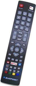 Official Genuine Blaupunkt POF/RMC/0001 Smart TV Remote 32/138Q-GB-11B4-EGPF-UK