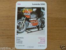 EASY RIDER 6B LAVERDA 1200 KWARTET KAART, QUARTETT CARD,SPIELKARTE