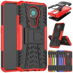"For Nokia 3.4 Case, (6.39""), Shockproof Armor TOUGH Heavy Duty Stand Phone Cover"
