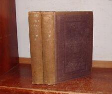 Old POETICAL WORKS OF WILLIAM HOSMER Set 1854 INDIAN LEGEND SONG NATIVE AMERICAN