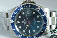 Alpha Submariner Blue Dial Blue Bezel Miyota  Cal 8215 movement Ltd Edition