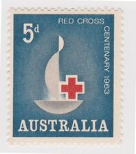 Red Cross Australian Pre-Decimal Stamp Individuals
