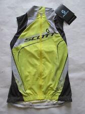 Women Polyester Sleeveless Cycling Jerseys with Full Zipper