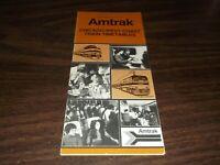 JUNE 1976 AMTRAK CHICAGO-WEST COAST PUBLIC TIMETABLE