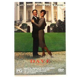 Dave Frank Langella Kevin Kline Ben Kingsley DVD R4 Good Condition